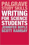 Writing for Science Students book cover