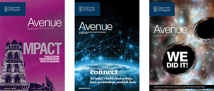 Recent Avenue covers