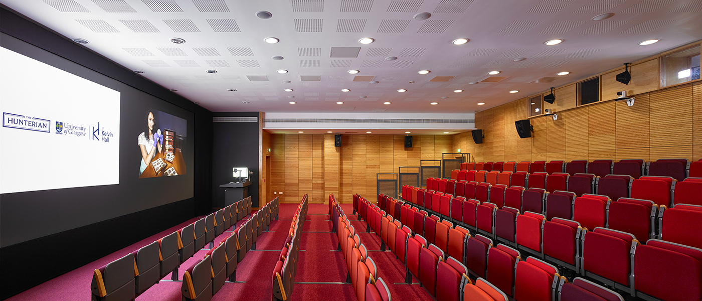 Kelvin Hall lecture theatre