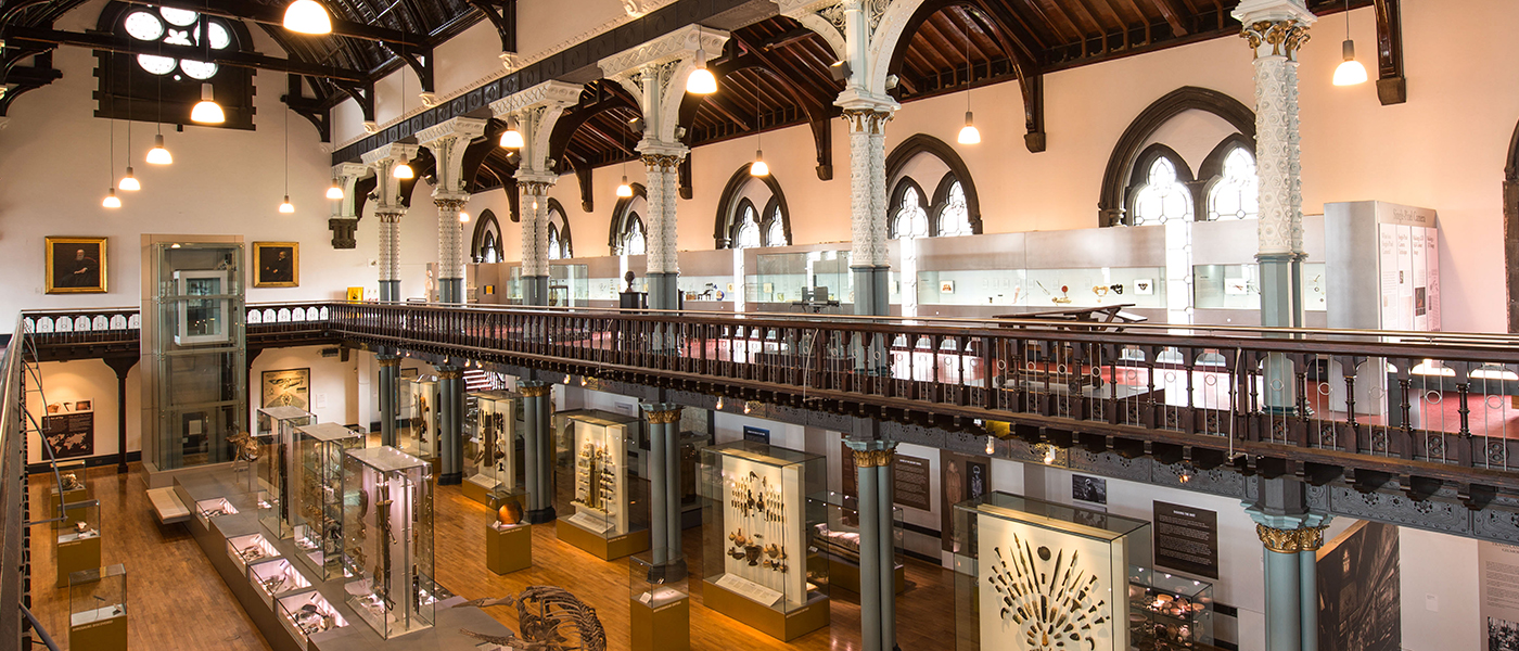 The Healing Passion display in the Hunterian Museum