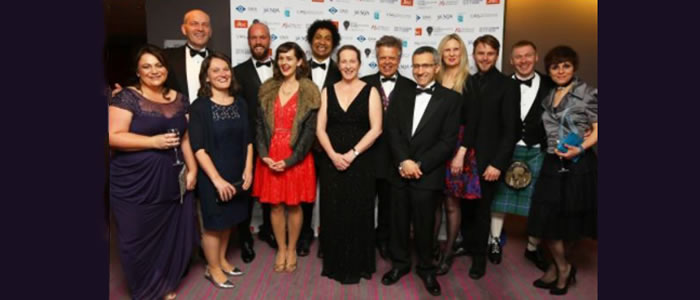 Image of University staff at the Herald Higher Education Awards