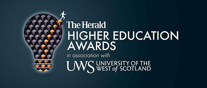 Logo for the Herald Higher Education awards 2017