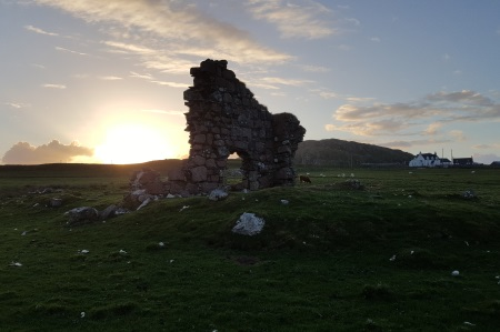 Bishop's House ruin on Iona