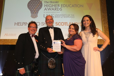 Herald Higher Ed Innovation Technology Excellence award