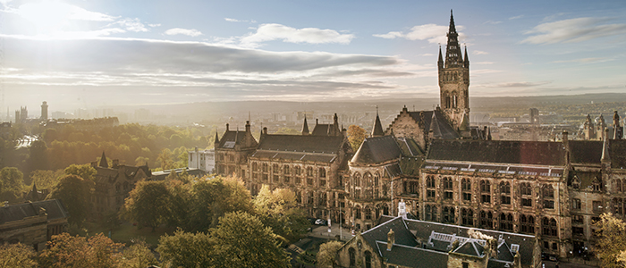 A lovely view of the University in true, dreamy Hogwarts style