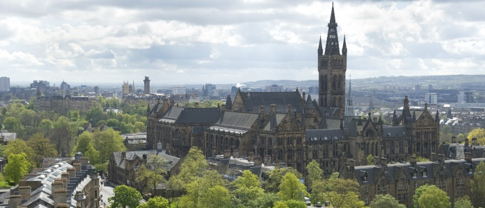 Image of theUniversity of Glasgow main building