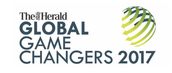Branding for the 2017 Global Game Changers awards