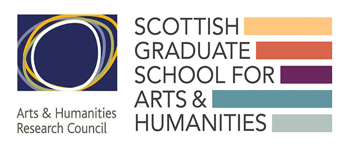 SGSAH and Arts and Humanities research council logo