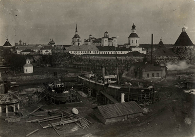 The camp before 1927. © The Solovki State Historical, Architectural and Natural Museum-Reserve.