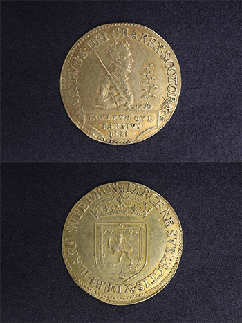 James VI twenty pound piece, GLAHM 39012
