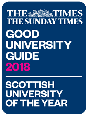 Scottish University of the Year logo