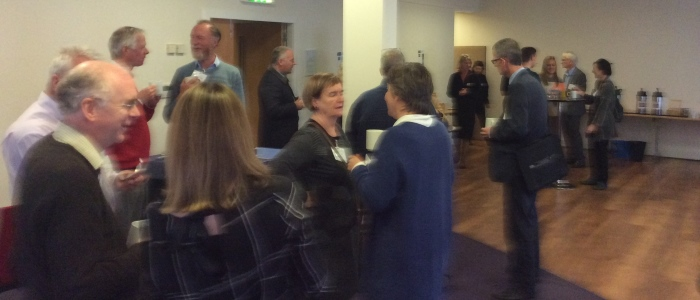 Networking at the SECURE Annual conference