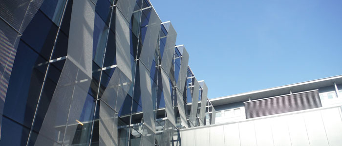 Image of part of the ICE building