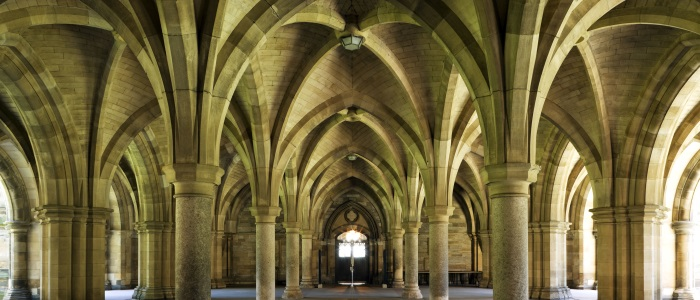 Image of the University cloisters