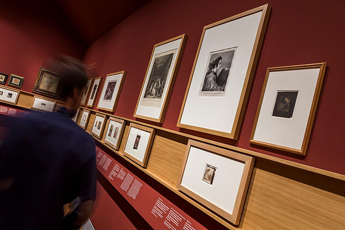 Images taken from the Copied by the Sun exhibition at the Museo del Prado