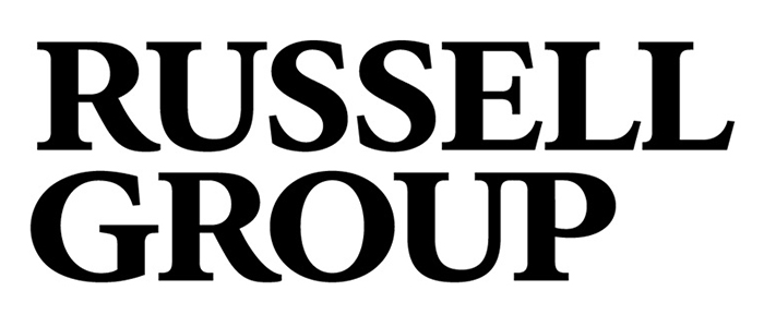 Image of the Russell group branding