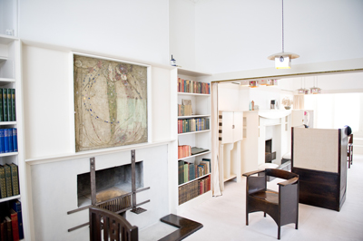 The Mackintosh House studio drawing room