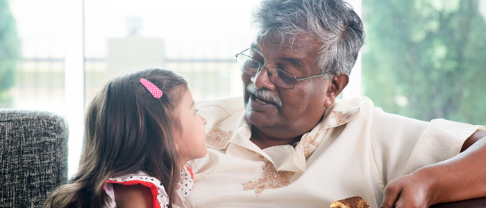 Grandparent behaviour appears to have a negative impact on children's long-term cancer risks