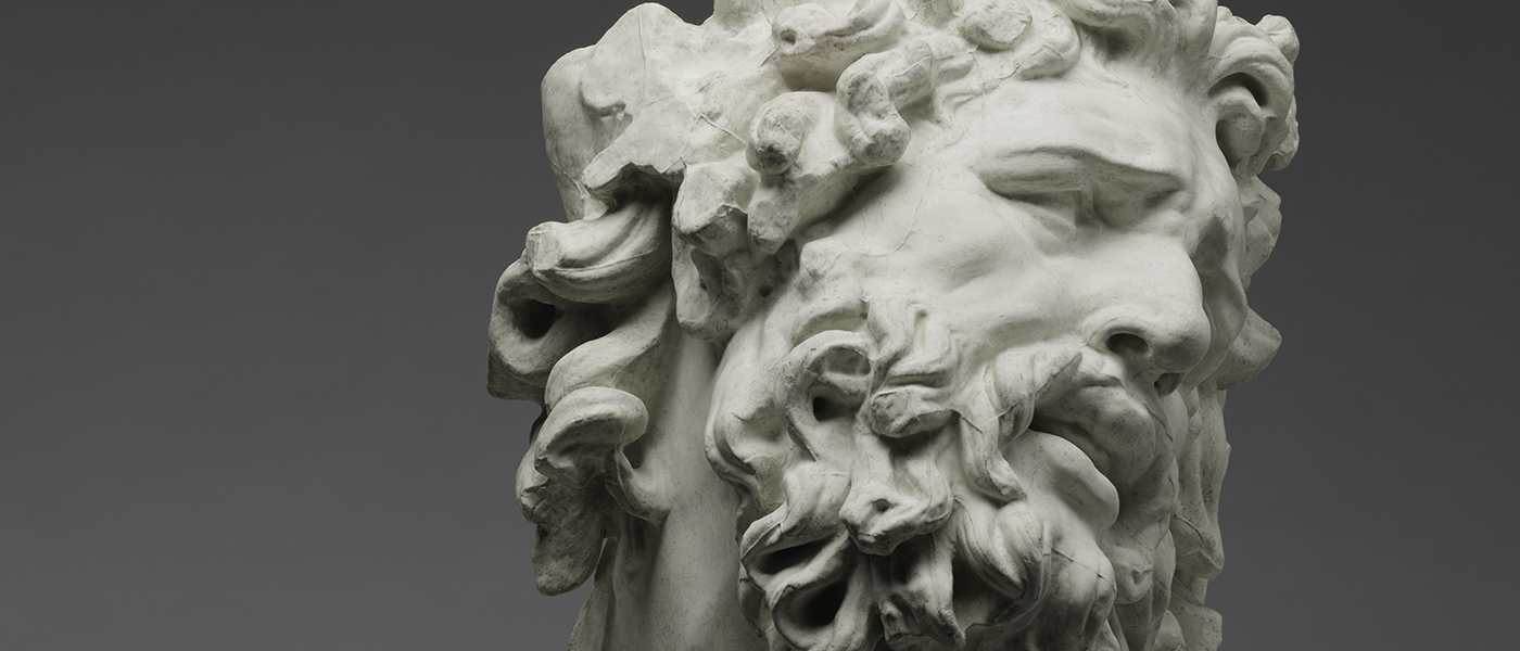Jean-André Getti, Head of Laocoön, after the Antique, c. 1803. © Harvard University Portrait Collection.
