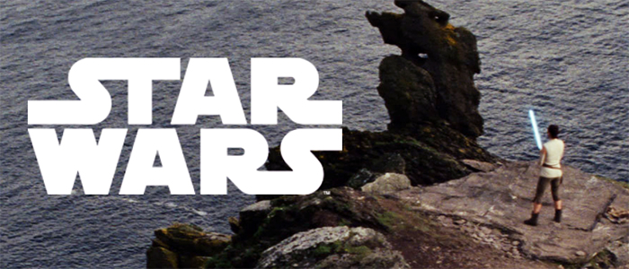 Image of Star Wars current branding for new year 2018.