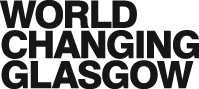 World Changing Glasgow branding text only