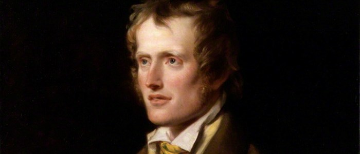 A portrait of English poet John Clare