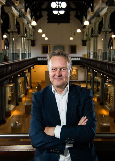 Hunterian Director Steph Scholten
