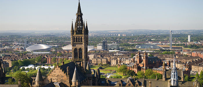 Image of University of Glasgow tower