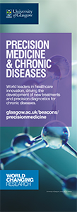 An image of the Precision Medicine & Chronic Diseases bannerstand