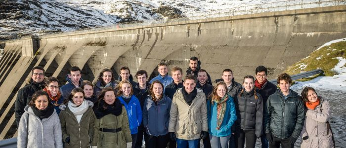 2017 Scholarship Students at Cruachan Power Station