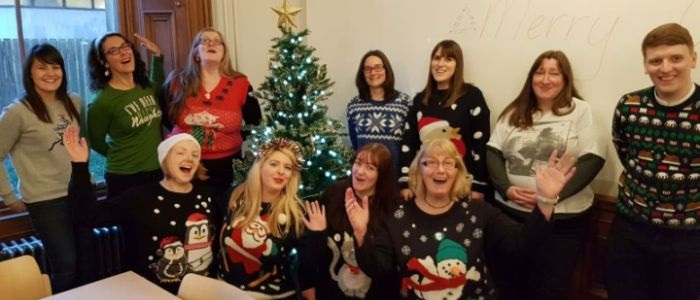 Social Committee Christmas Jumpers