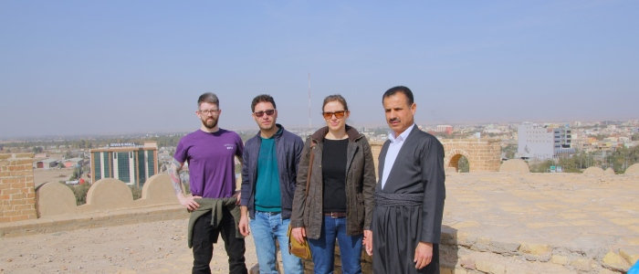 Glasgow-team visit to the Qala Shirwana in February 2018