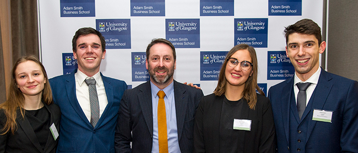 ASES &GUCS Business Case Competition winners 2018