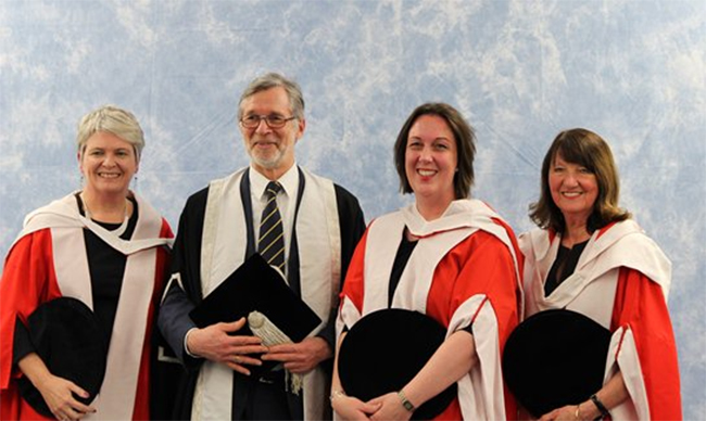 Prof Sheila Rowan awarded honorary degree