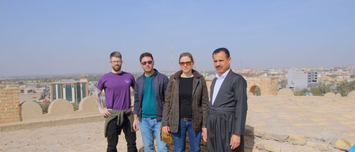 UofG academic leads efforts to save earthquake damaged castle in Iraq