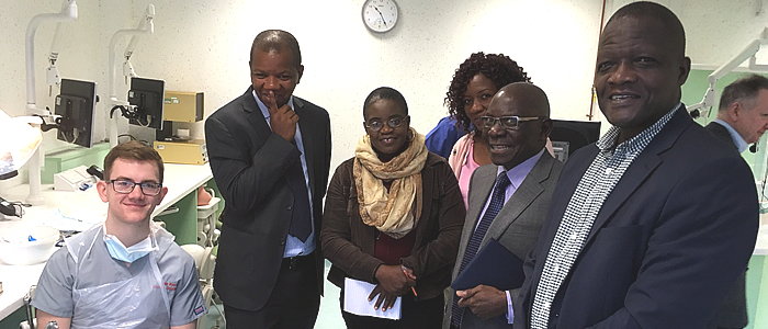 Delegates from Malawi visiting Glasgow Dental School