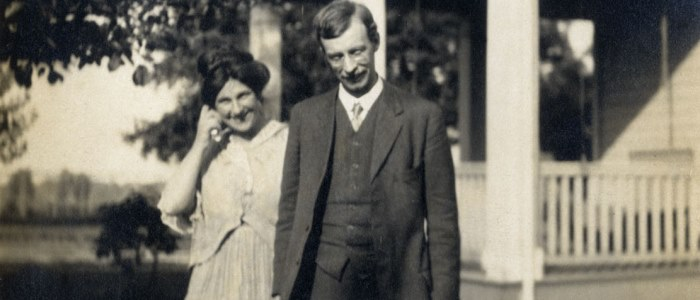 Professor Archibald Bowman and his wife Mabel 700 x 300