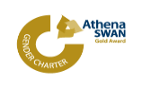 Athena SWAN Gold logo Advance HE