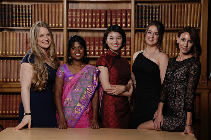 Women In Science Fellowships winners