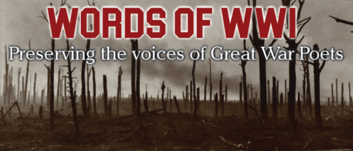 Students to honour fallen by taking WW1 poetry project to the battlefield
