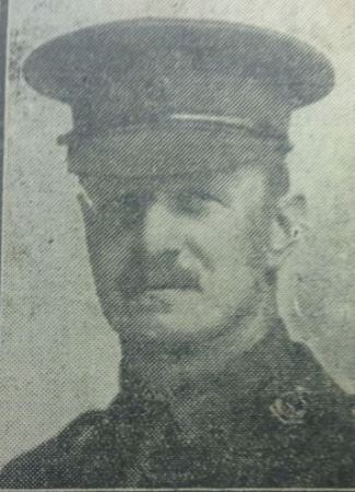 A photo of WW1 soldier William Turner
