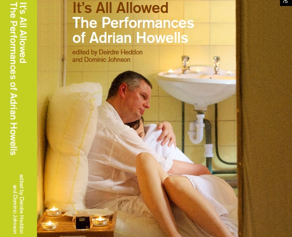 Adrian Howells Book Cover by Dee Heddon
