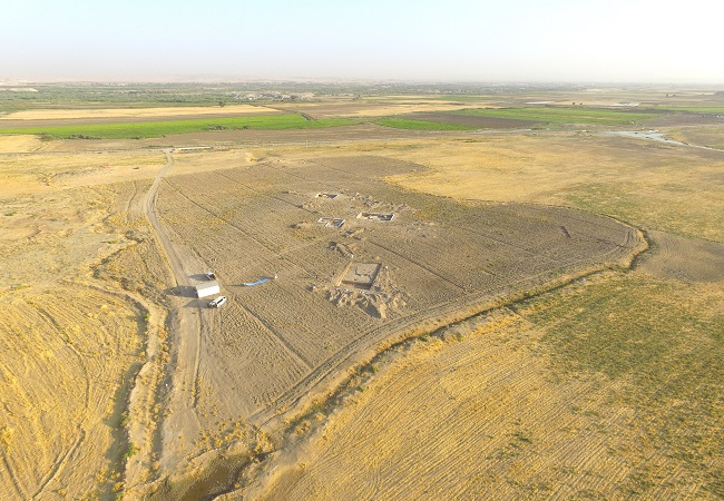 Aerial View Khani Masi Excavations 650