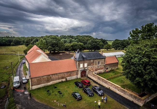 Hougoumont Farm site of Battle of Waterloo