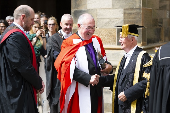Honorary Degree for Rev Dr Angus Morrison