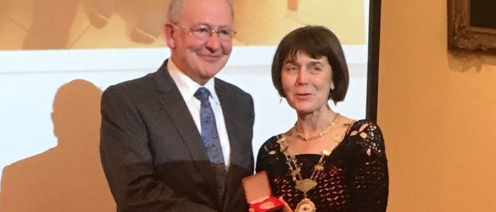 Lifetime achievement award from Royal College of Physicians of Ireland