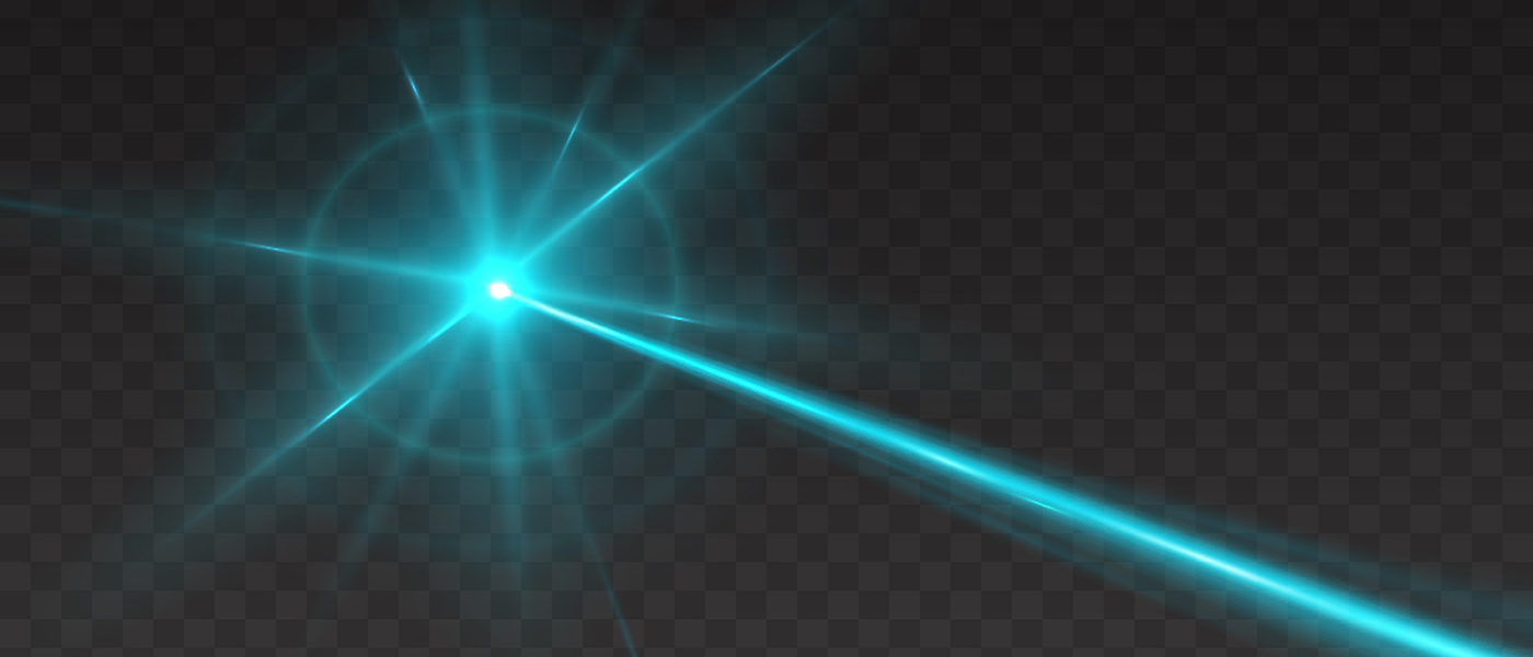 Image of beam of light