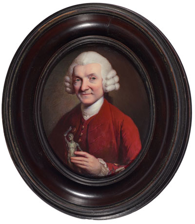 Attributed to George Michael Moser, after Mason Chamberlin, William Hunter, After 1769.