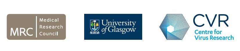 MRC, University of Glasgow and CVR logos