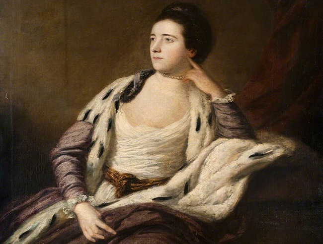 Sir Joshua Reynolds's Lady Maynard (c.1759-60) The Hunterian, UofG